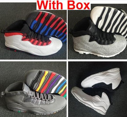 Westbrook 10s I'm Back 10 Cool Grey 10s Basketball Shoes 10s X Im Back Men Sports Shoes Sneakers Shoes Mens with box