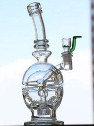 Skull Oil Rigs Glass Bongs Newest Fab Egg Glass Bong Hookahs Cheap Hand Blown Water Pipes