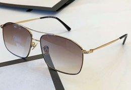 0889S Stones Pilot Sunglasses Gold Frame Brown Lens glasses SONNENBRILLE Designer Sunglasses 0889S New with Case