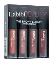 Habibi Beauty Huda Liquid Matte Minis The Brown Edition 4 x 1.9ml