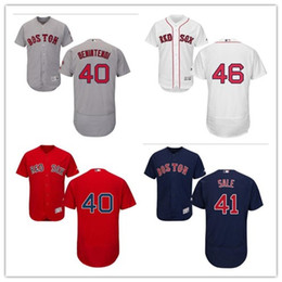 custom Men's Women Youth Majestic Red Sox Jersey #40 Andrew Benintendi 47 Tyler Thornburg 41 Chris Sale 46 Craig Kimbrel Baseball Jerseys