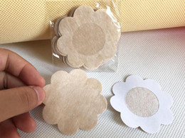Factory Price! 20,000pcs(5pairs pack) Womens Sexy Disposable Cubrepezon Nipple Cover Patch Breast Nipple Pad Petals