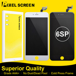 Incell LCD Screen For iPhone 6SP No Dead Pixel Grade A LCD Screen Replacement Assembly With Touch Screen Digitizer Free DHL Shipping