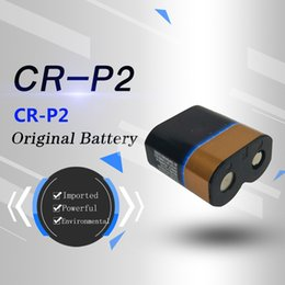 The original imported genuine cr-p2 lithium battery 6V and 2CP4306 faucet urinal infrared sensor CRP2 camera battery