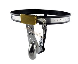 Stainless Steel Male Underwear Chastity Belt with Anal Plug,Chastity Cages,Chastity Device,Cock Cage,Penis Lock,Adult Game,A187