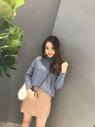 Autumn and winter latest ladies high-necked pullover sweater cashmere knitted shirt primer smooth and delicate long-sleeved skin-friendly sw