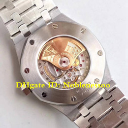 3 Color Cal.3120 Watch Automatic Movement Luxury 41mm Oak Blue Dial Steel Bracelet 15400ST 15400 Mens Watches