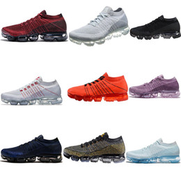 2018wholesale New Vapormax Mens Running Shoes For Men Sneakers Women Fashion Athletic Sport Shoe Hot Corss Hiking Jogging Walking Outdoor