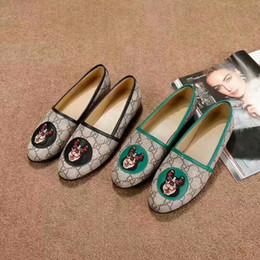 Designer Luxury Women Shoes Designer Slides Fashion Luxury Designer Women Shoes New 2018 Retros Superstar Loafers Women Shoes Ladies