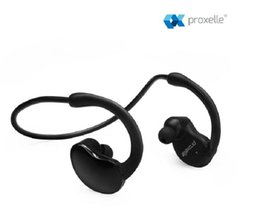 wholesale Sporty Bluetooth Headset - Snugly & Tangle Free - Wireless Earbuds, Universal Compatibility Version 4.0 Bluetooth Technology Black