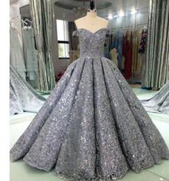 Luxury Glitter Sequins Evening Dresses Long 2018 Ball Gown Sparkly Saudi  Arabic Women Formal Evening Prom Gowns Vestido De Festa 1bec2c5a5269