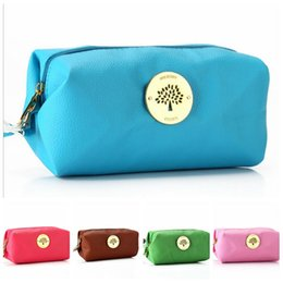 2017 Hot sell Litchi pattern wash tote bags mini designer cosmetic bags PU handbag makeup bag