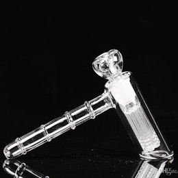 Real Image easy carrier New Glass bong Six ArmTree Percolator Hammer Bubbler Smoking Pipes Bongs Free Shipping
