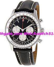 Luxury Wristwatch Fashion Watch Navitimer 01 Chronograph Black Dial Men's Watch 43.7mm Quartz Mens Watch Watches