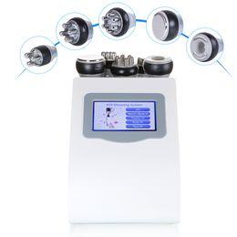 5in1 3 polar RF Radio Frequency Skin Care Cellulite Removal Beauty Equipment Vacuum Ultrasonic Cavitation Slimming Machine