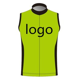 Custom Windproof Cycling Vest Sleeveless Jersey You Can Choose Any size Any color Any logos Accept Customized cycling Clothing