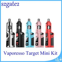 Vaporesso Target Mini Starter Kits with 1400mAh Battery Capacity Built in 40W Target Mini Mod E-cigarette Target Mini Mod 0268048