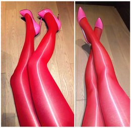 Plus 180CM High Shiny Glossy Sheer Stockings Club Dance Highs Tights Pantyhose