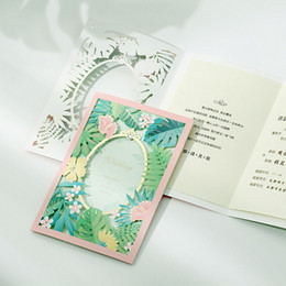 Laser Cut Wedding Invitations Cards Elegent Flowers Wedding Cards Invitations Free Printing Invitation Cards with Crown free shipping