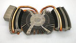 Wholesale 100W high power LED heat sink copper base heat pipe radiator 100W projector lamp beads heat