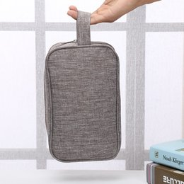 Neceser New Men Portable Canvas Travel Cosmetic Bag Organizer Case For Make-up Pouch Wash Pouch Toiletry Bag