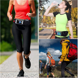 New Sports Bottle Pockets Outdoor Running Mobile Phone Pockets Security Phone Multifunctional Pockets Outdoor