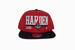 Cool Houston rockets Summer New Hat Female models male baseball cap simple wild fashion Basketball baseball Caps James Harden13 peaked cap