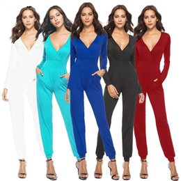 western style women trousers comfortable jumpsuits ropas de mujeres