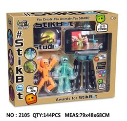 The new Stiikbot Zanmation Studio creative villain doll, birthday gift Christmas gifts, fun toys, DHL free shipping