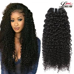 Brazilian Kinky Curly Hair 8A Unprocessed Brazilian Kinky Curly Hair Extension Natural Color 100% Human Virgin Hair Weave Bundles