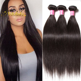 Nadula Raw Indian Straight Hair 4 Bundles Human Virgin Hair Extensions Cheap Cuticle Aligned Hair Bundles Remy Human Wavy Weave Wholesale