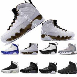 The Spirit 2018 Mop Melo Bred 9 9s LA Oreo basketball shoes IX Men space jam Tour Yellow Black Red sports Sneakers