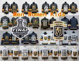 Man Woman Youth Vegas Golden Knights 29 Marc-Andre Fleury 18 James Neal 56 Erik Haula 57 David Perron 2018 Stanley Cup Inaugural Jersey