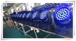 (4 lot) 36x10w rgbw 4 in 1 zoom led moving head, moving head zoom