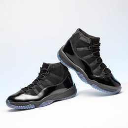 2018 Cap And Gown Basketball Shoes 11s Gym Red UNC 11 Low Barons Space Jam Bred 11 Men Sports Shoes Ship with box