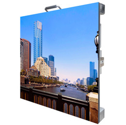 Indoor led video wall P3.91 cabinet 500mm by 500mm with free shipping to Thailand