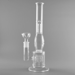Honeycomb Bong Manufacture Hot Selling Glass Water Pipe With Tire Style And Honeycomb Glass Diffuser Percolator Glass Bongs Free Shipping