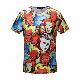 famous New Summer Cotton tshirt t-shirt designer tag grid medusa palace Harajuku Homme color print Men Brand casual cotton tee top M-3XL