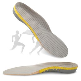 EVA Arch Support Sports Insoles for Men Women Plantar Fasciitis Pain Relief Pad Shoes Deodorant Cushion Insole