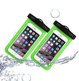 Waterproof case for Smartphone waterproof portable case IPX8 certified sensitive PVC bath Springs fishing swimming skiing snowboarding