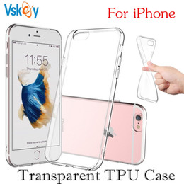 High Light TPU Silicone Case For iPhone X 6 6S 7 8 Plus Ultra Thin Transparent Samsung S8 S9 Plus Phone Back Cover