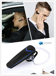 Wireless Mono Headset - Crystal clear audio with A2DP + 6 hours playback time - Make take calls hands-free from TWO devices at once!