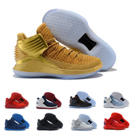 Cheap 2018 New Arrival 32 Low Black Cat White Blue Yellow Red Basketball Shoes for Top quality 32s XXXII Airs Sports Sneakers