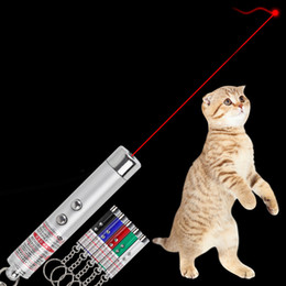 Cat laser pointer 2 in 1 chaser toy with laser dot and flashlight to scratching training cat catch interactive light toy