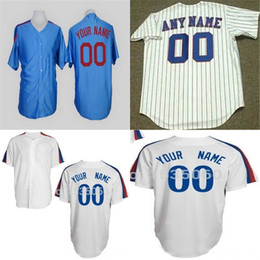 2016 New Personalized Montreal Jerseys custom Stitched cheap Customized Any name NO.white blue Hot sale baseball jerseys size XS-6XL