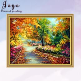 Joyo, DIY resin diamondpainting cross stitch, woodland landscape, home decor, room decoration, perfect design, beautiful gift