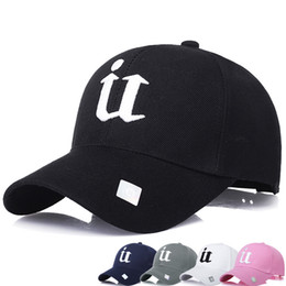 1Piece Baseball Cap Solid color leisure hats with U letter embroidered for men and women hater snapbacks New Arrivals