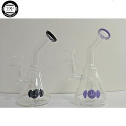 flour down stem glass bong glass beaker bong water pipe 14mm joint bowl mini glass bong oil