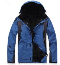 High Quality Men's Outdoor Climbing Clothes Fashion Two-piece Men Sports Coat Winter Waterproof Men's Skiing Jack
