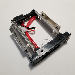 """3.5"""" to 5.25"""" inch Hard Drive HDD Bulid in Bay Rack Tray Caddy Carrier Enclosure CD-ROM Replacement w  Key Lock and Cable"""